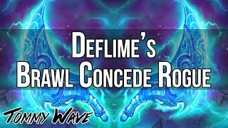 Deflime's Brawl Concede Rogue - Hearthstone Decks
