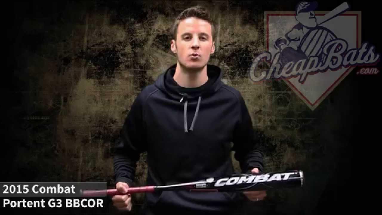 2015 combat portent g3 bbcor baseball bat pg3ab103 youtube for 2015 portent g3