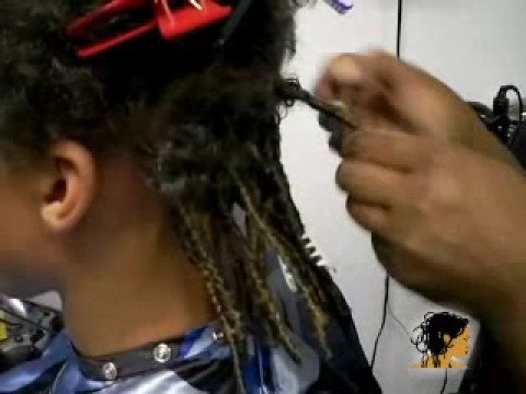 Tisha's Braids - How to do Dread Lock Extensions or Fake Dreads