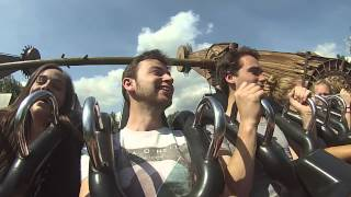 Walibi with friends - Tomb Raider
