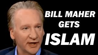BILL MAHER GETS ISLAM MAKES A FOOL OF CHARLIE ROSE