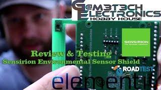 Road Test - Review & Testing Sensirion Environmental Sensor Shield