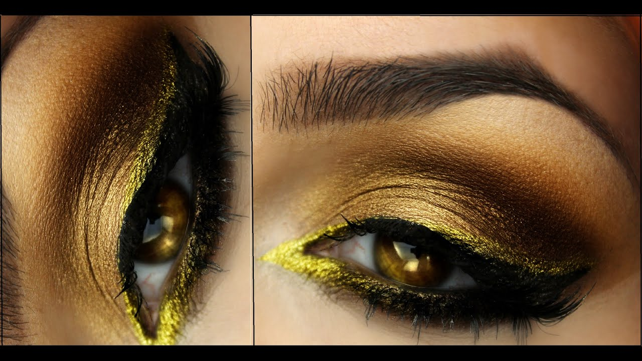 Eye makeup hazel eyes