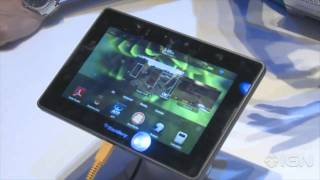 CES 2011_ Blackberry Playbook Hands On