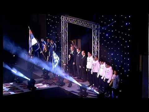 WAKO PRO WORLD GRAND PRIX - Srbija vs Gr�ka - Belgrade, March 5th, 2011 - Ceremonija sve�anog otvaranja.