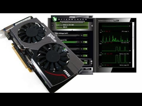 Overclocking MSI GTX 660 Twin Frozr OC with MSI Afterburner