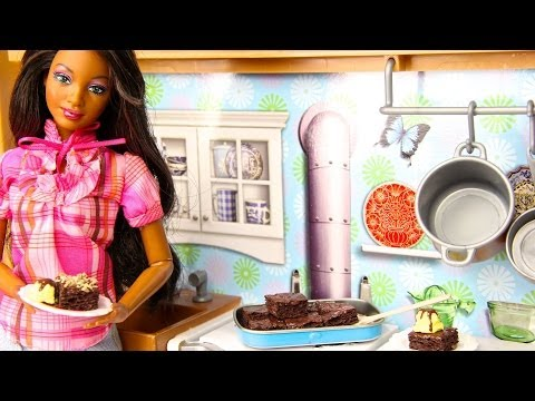How to Make Doll Brownies & Icecream
