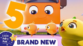 Five Little Ducks Song + More Nursery Rhymes & Kids Songs - Brand New!  Little Baby Bum
