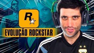 A EVOLUÇÃO dos jogos da Rockstar, vídeo IMPRESSIONANTE