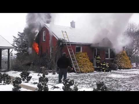 House fire Spring Twp