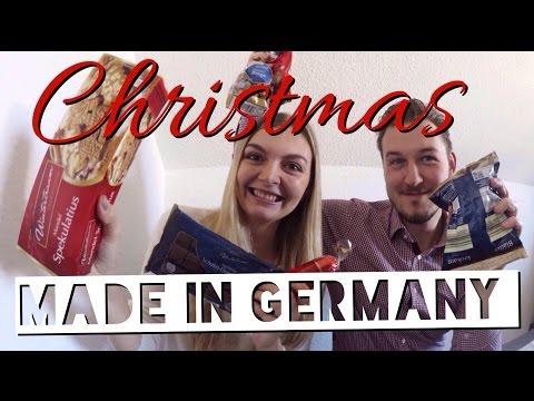 Пробуем рождественские сладости из Германии.
