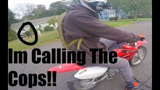 Pit Bike Adventures Ep 3. Whats a Chain?