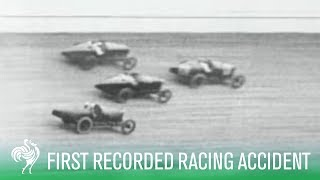 First Ever Recorded Motor Racing Accident (1919)