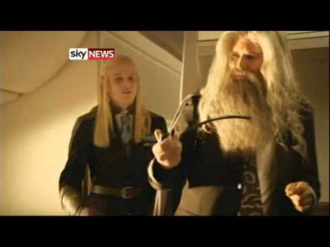 Air New Zealand Hobbit Safety Video A Hit