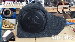 BMW M5 2015 Custom Subwoofer Enclosure
