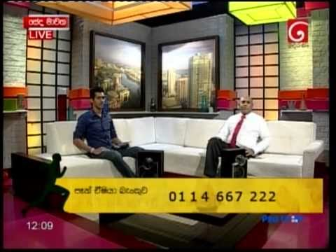 Special interview on Derana TV with Pan Asia Bank Director/CEO Mr. Dimantha Seneviratne