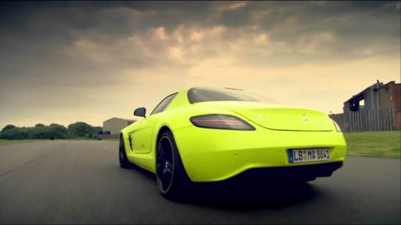 Top Gear The Awesome Sound Of The 739 Horsepower Sls Amg