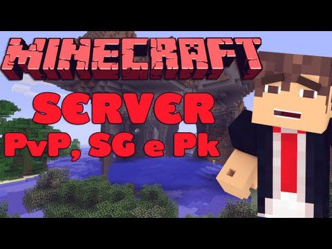 Server de Minecraft 1.6.2 PvPm Parkour. Hunger Games [Pirata e Original]