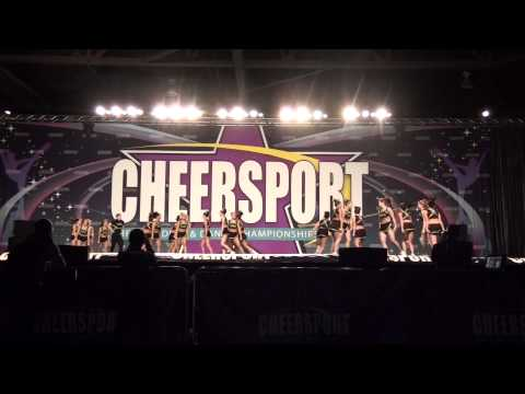 University of Regina Cheerleading - Cheersport Nationals 2011 - Day 2 - Open Coed 6