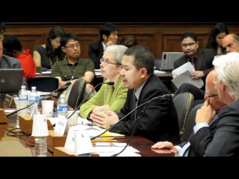 Aung Din Testimony House Foreign Affairs Committee