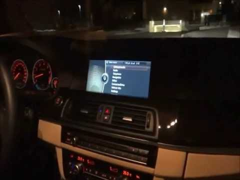 Video Unlock for BMW F10 5-series