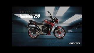 Vento tornado 250 cc prueba y review