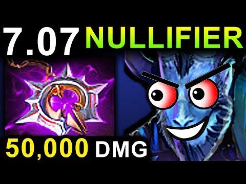 NULLIFIER RIKI - DOTA 2 PATCH 7.07 NEW META PRO GAMEPLAY
