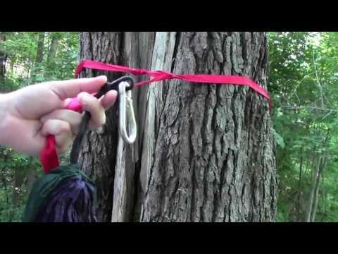 Kelty Noah's Tarp Setup. With NEW ENO Hammock Technique