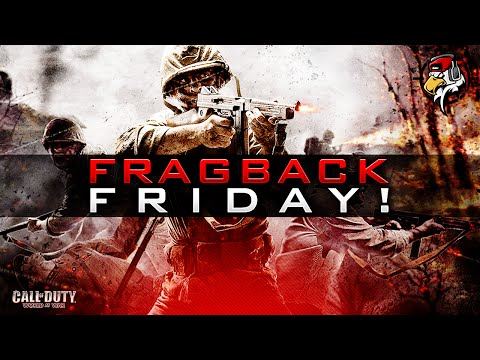 WORLD AT WAR! - Fragback Friday w/ EliteShot! (Call of Duty: WaW Multiplayer Gameplay)