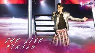 The Lives 3: Sheldon Riley sings Born This Way | The Voice Australia 2018