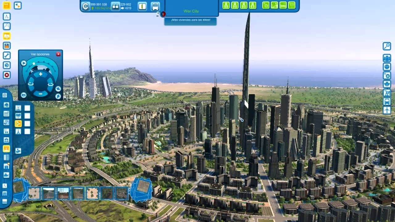 How To Build The Biggest Sim City