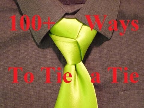 Animated - How to Tie a Necktie - Trinity Knot - How to Tie a Tie