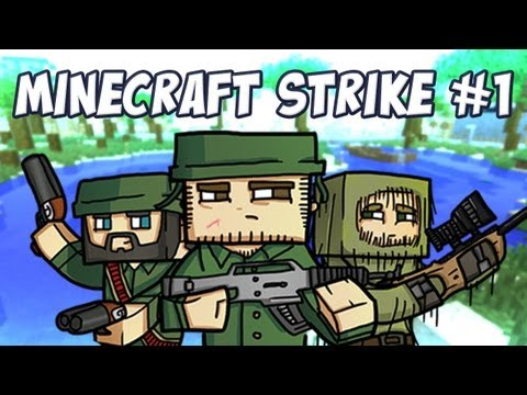 Minecraft Strike ALPHA w/ SoTotallyToby (Part 1)
