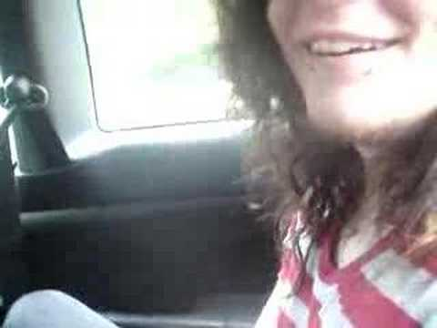Pritchard in the car