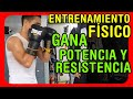 Entrenamiento Físico para boxeo: Trabajo de potencia y resistencia en diferentes sacos de boxeo