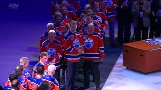 Gretzky brings the house down at Rexall Place