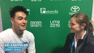2019 Pan American Games: Bronze USMNT vs. Chile Post-Game Interviews