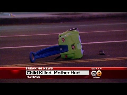 Toddler Killed, Mother Hurt By Hit-And-Run Driver Near South Gate