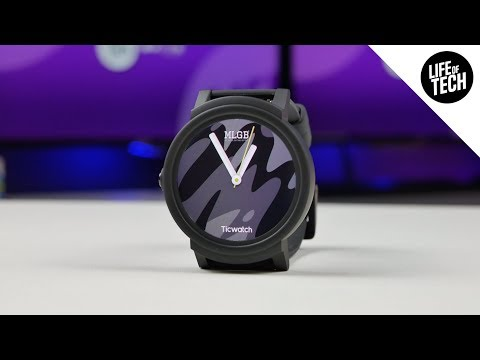 Mobvoi Ticwatch E (Express) Android Wear Smart Watch Review - 2018 | 4K