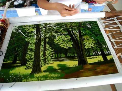 Silk Pine Tree Forest - 87101