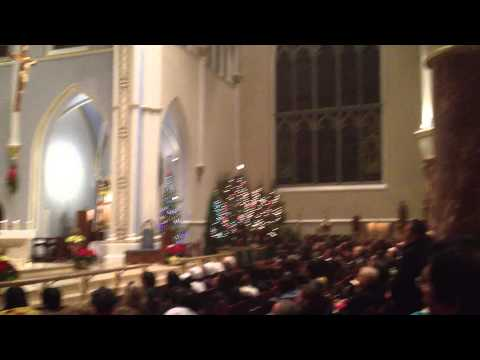 Bishop Miller Christmas Mass at Holy Rosary Cathedral 2012