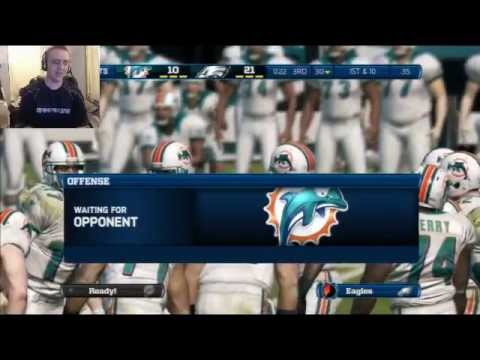 Madden 13 Late Night Livestream - Xbox One Discussion & MrH H.O.F. (MIA vs PHI) (STL vs TEN)