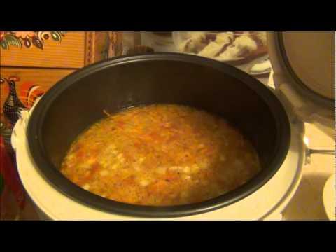 Суп с фрикадельками в мультиварке. Готовим вместе.
