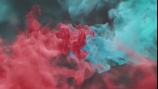 Colorful Smoke Reveal Logo Video Intro Animation