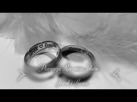 Pierwsza Rocznica ślubu.