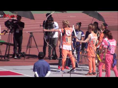 130903 MBC Idol Sport Championship KRIS focus WuYiFan Archery