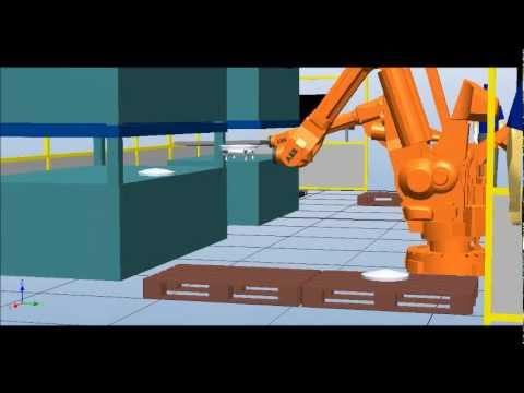 Taşıma Robotu Simülasyonu 14