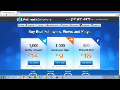 Authentic Followers Review ( Best Promotion Tool On The Web )