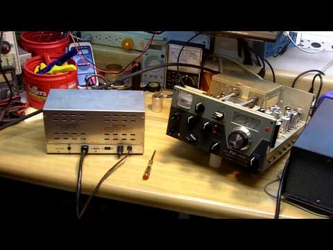 Drake TR-4Cw Ham Radio Transceiver Capacitor Upgrade