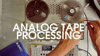Tape Techniques #4: Processing Ambient Tracks With A Nagra